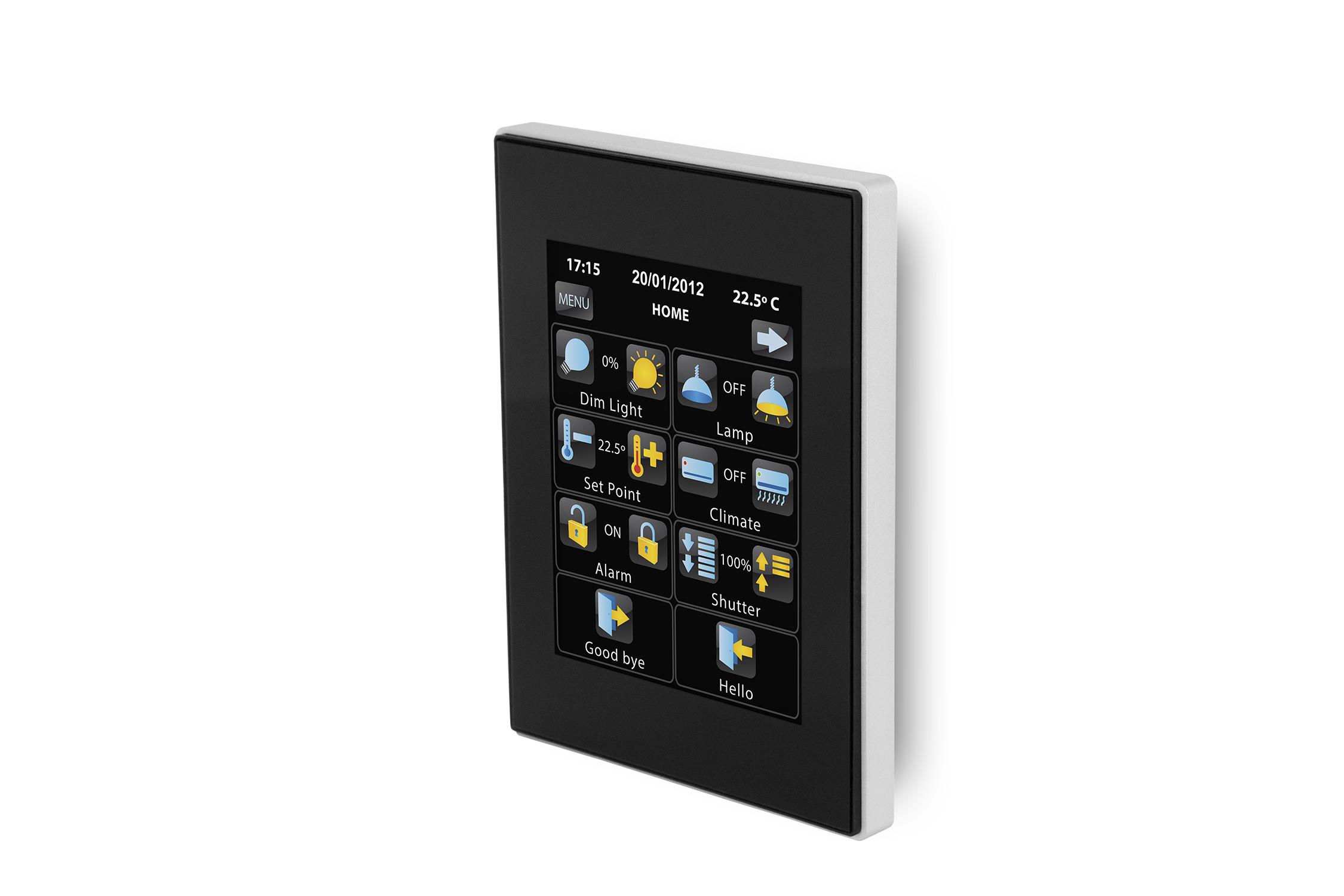 Zennio Z41PRO Färg Touch Panel