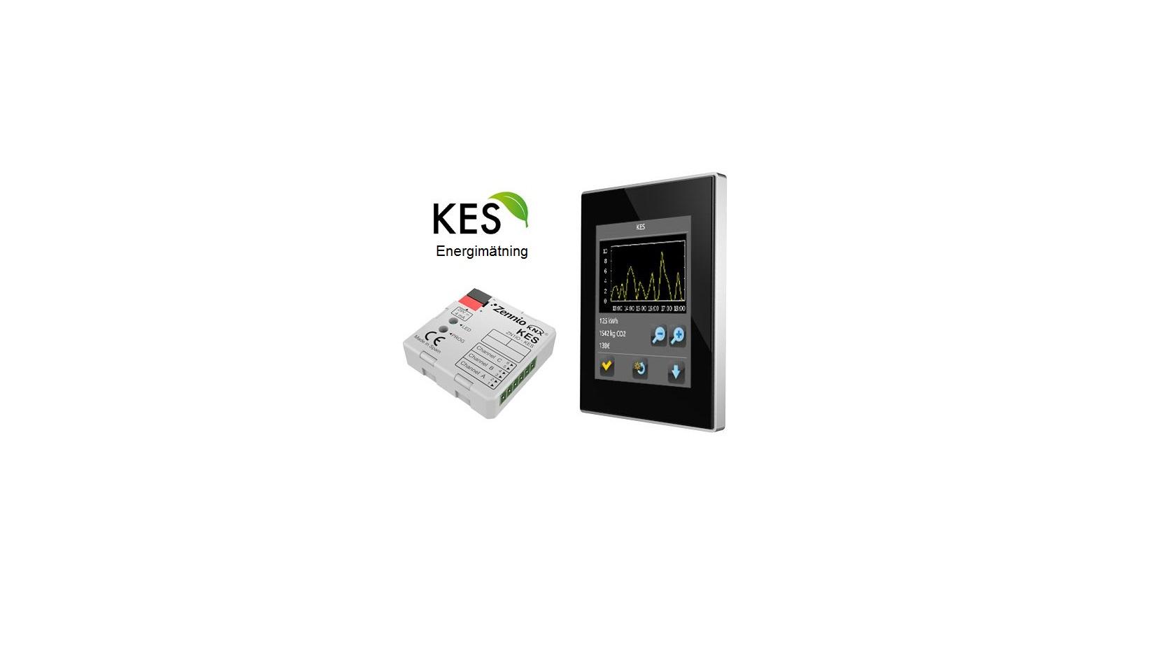 Zennio KES och Z41 Touch Panel