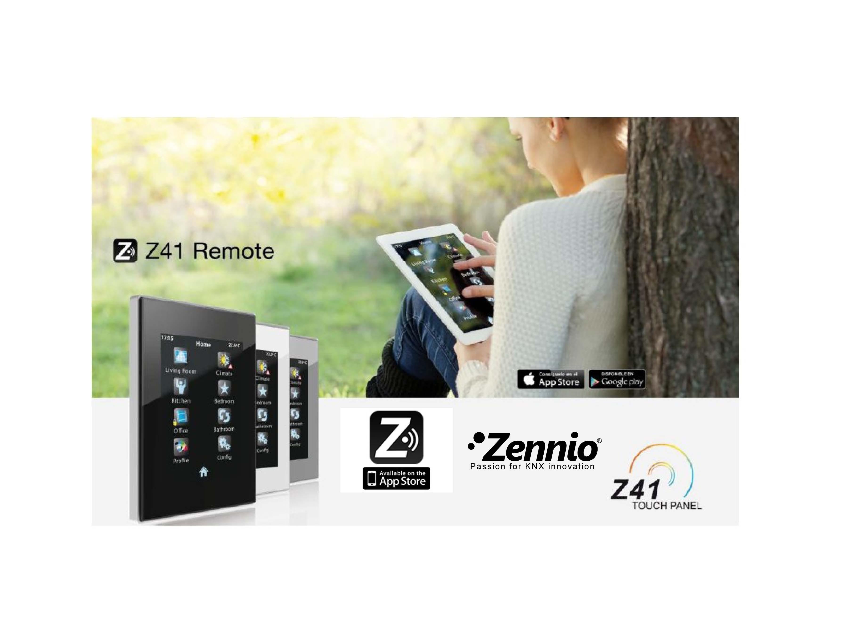 Z41 Remote. App för visualisering och styrning från mobila enheter!